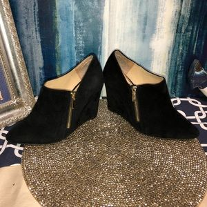 Size 8.5 Jessica Simpson JP Cutey Leather Booties